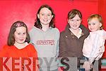 PANTO: Aoife OConnor, Karen OSullivan, Ciara OSullivan and Rachel ORahilly (all Rathmore) enjoying The Wizard of Oz pantomime in Rathmore Community Centre last Sunday.