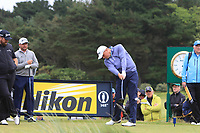 James Sugrue (IRL)(AM) on the 12th during the preview of the the 148th Open Championship, Portrush golf club, Portrush, Antrim, Northern Ireland. 17/07/2019.<br /> Picture Thos Caffrey / Golffile.ie<br /> <br /> All photo usage must carry mandatory copyright credit (© Golffile | Thos Caffrey)