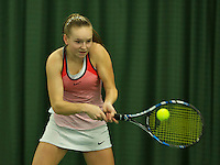 Rotterdam, The Netherlands, March 18, 2016,  TV Victoria, NOJK 14/18 years, Perla Nieuwboer (NED)<br /> Photo: Tennisimages/Henk Koster