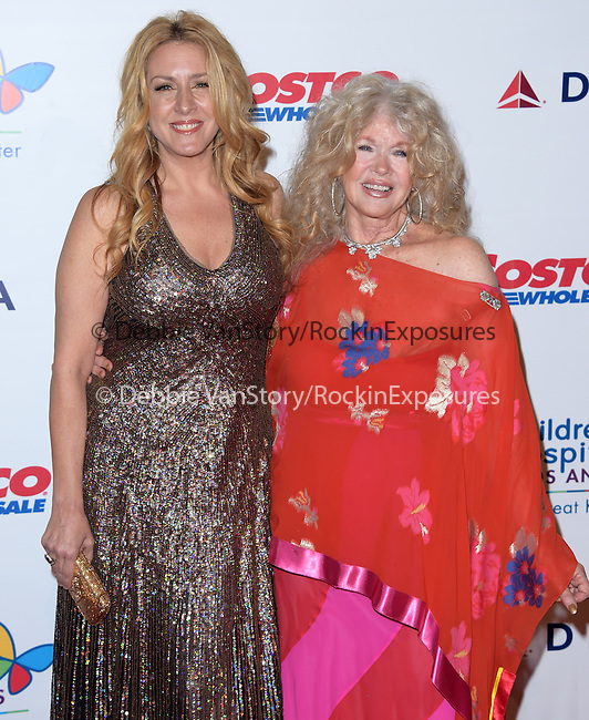 Joely Fisher and Connie Stevens attends The Children's Hospital Los Angeles Gala: Noche de Ninos held at The Event Deck at Nokia Live in Los Angeles, California on October 11,2014                                                                               © 2014 Hollywood Press Agency