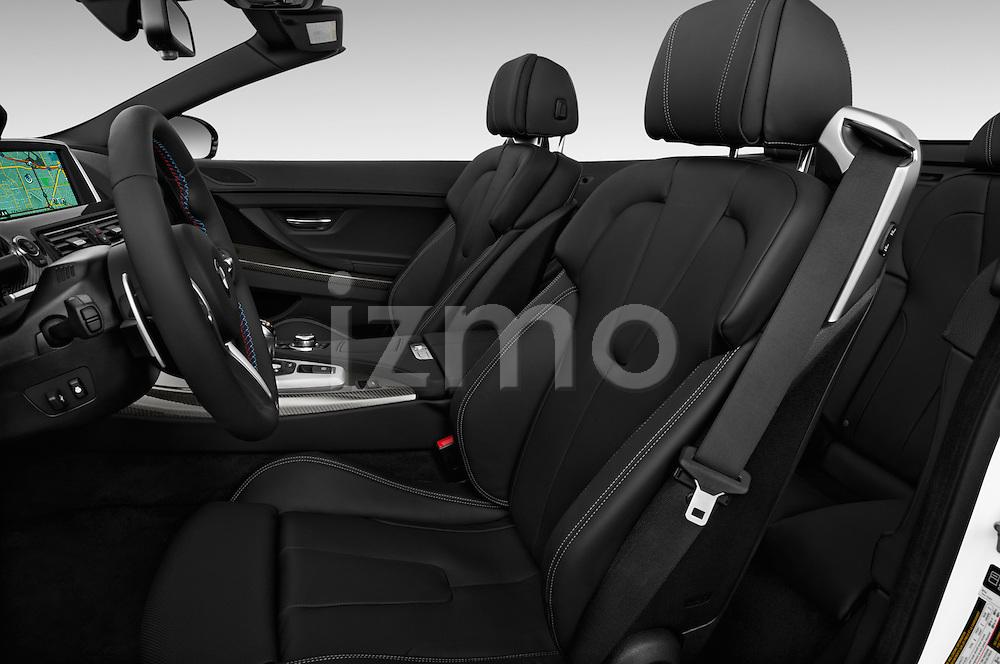 Front seat view of 2016 BMW M6 Convertible - 2 Door Convertible Front Seat  car photos