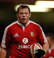 2005 British & Irish Lions vs Argentina, at The Millennium Stadium, Cardiff, WALES played on  23.05.2005, Steve Thompson.Photo  Peter Spurrier. .email images@intersport-images...