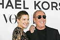 (L to R) American actress Kate Hudson and fashion designer Michael Kors, attend the photo call for the event ''Michael Kors Watch Hunger Stop Charity Gala Dinner in Tokyo'' at the Riva degli Etruschi restaurant on November 13, 2017, Tokyo, Japan. The event was organised in collaboration with VOGUE JAPAN to raise money for delivering meals to malnourished children around the world. (Photo by Rodrigo Reyes Marin/AFLO)
