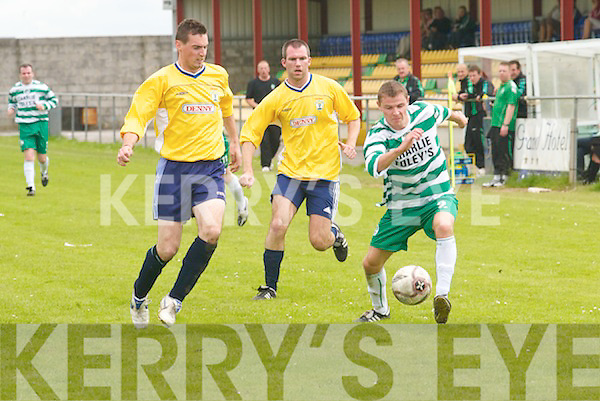 Killarney Celticv Currans in the semi-final of the Premiership.at Mounthawk Park, Tralee, on Sunday.