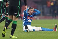 Jose Maria Callejon Napoli <br /> Napoli 13-01-2019  Stadio San Paolo <br /> Football Calcio Coppa Italia 2018/2019 round of 16  <br /> Napoli - Sassuolo<br /> Foto Cesare Purini / Insidefoto
