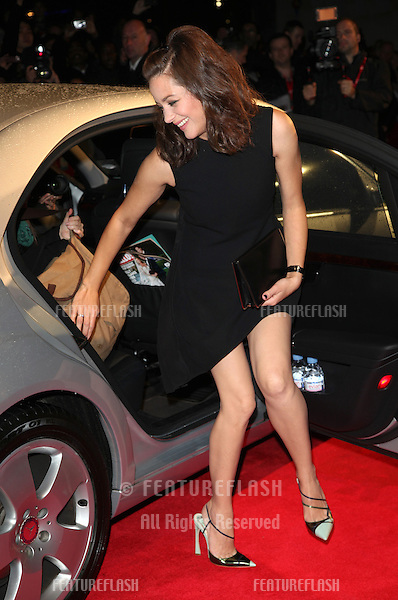 Marion Cotillard arriving for the premiere of 'Rust and Bone' during the 56th BFI London Film Festival at Odeon West End, London. 13/10/2012 Picture by: Alexandra Glen / Featureflash