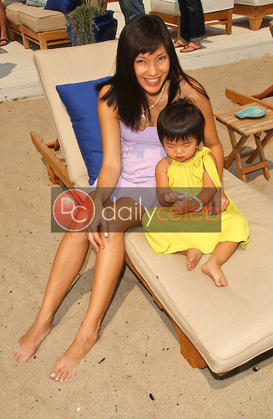 Jodi Fung and daughter<br />at the Hot Moms Video Shoot for &quot;Beautiful Now(the Hot Moms Song)&quot;. Silver Spoon House, Malibu, California. 08-15-07<br />Dave Edwards/DailyCeleb.com 818-249-4998
