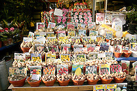 Bulbs for sale at the horticultural market at Eminonu, Istanbul, Turkey