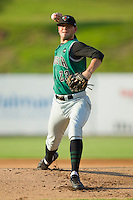 Starting pitcher Chris Heston #23 of the Augusta GreenJackets in action against the Kannapolis Intimidators at Fieldcrest Cannon Stadium June 24, 2010, in Kannapolis, North Carolina.  Photo by Brian Westerholt / Four Seam Images