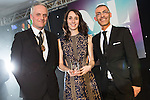 © Joel Goodman - 07973 332324 . 03/03/2016 . Manchester , UK . Michael Hardacre , president of Manchester Law Society , winner Associate of the Year ELIZABETH TINDALL of Eversheds (centre) . The Manchester Legal Awards from the Midland Hotel . Photo credit : Joel Goodman