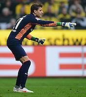 FUSSBALL   1. BUNDESLIGA   SAISON 2011/2012   26. SPIELTAG Borussia Dortmund - SV Werder Bremen               17.03.2012 Sebastian Mielitz (SV Werder Bremen)