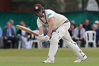 Dominic Sibley in batting action for Surrey during Surrey CCC vs Essex CCC, Specsavers County Championship Division 1 Cricket at Guildford CC, The Sports Ground on 9th June 2017