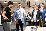 The president of Ciudadanos, Albert Rivera, visit the facilities of Google Campus in Madrid. June 02. 2016. (ALTERPHOTOS/Borja B.Hojas)
