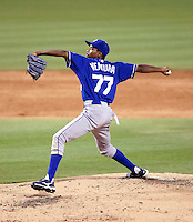 Yordano Ventura - 2010 AZL Royals.Photo by:  Bill Mitchell/Four Seam Images..