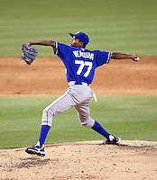 Yordano Ventura - 2010 AZL Royals.Photo by:  Bill Mitchell/Four Seam Images..