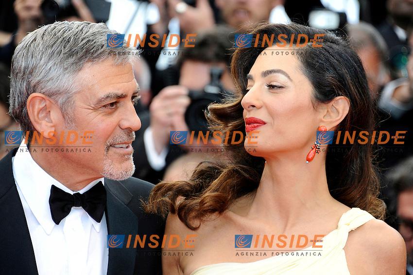 George Clooney, Amal Alamuddin<br /> Festival di Cannes 2016 <br /> Foto Panoramic / Insidefoto