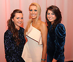 Karena O'Leary, Kerri O'Connor and Megann Kiely at  the Dr Crokes GAA Club Victory Celebration Night at the Inec, Killarney on Friday night. Picture: Eamonn Keogh (MacMonagle, Killarney)