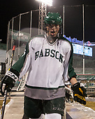 Jake Donahue (Babson - 5) - The UMass Boston Beacons defeated the Babson College Beavers 5-1 on Thursday, January 12, 2017, at Fenway Park in Boston, Massachusetts.
