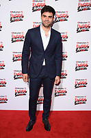 Sean Teale<br /> arriving for the Empire Awards 2018 at the Roundhouse, Camden, London<br /> <br /> ©Ash Knotek  D3389  18/03/2018