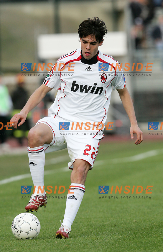 Ricardo Kaka (Milan)<br /> Italian &quot;Serie A&quot; 2006-07<br /> 17 Feb 2007 (Match Day 24)<br /> Siena-Milan (3-4)<br /> &quot;Artemio Franchi&quot;-Stadium-Siena-Italy<br /> Photographer: Andrea Staccioli INSIDE