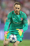 Atletico de Madrid's Jan Oblak during Champions League 2016/2017 Quarter-finals 1st leg match. April 12,2017. (ALTERPHOTOS/Acero)