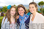 Sarah, Ann and Catherine Murphy Killarney soaking up the sunshine at the Killarney Races on Tuesday