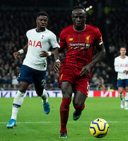 Liverpool's Sadio Mane <br /> <br /> Photographer Stephanie Meek/CameraSport<br /> <br /> The Premier League - Tottenham Hotspur v Liverpool - Saturday 11th January 2020 - Tottenham Hotspur Stadium - London<br /> <br /> World Copyright © 2020 CameraSport. All rights reserved. 43 Linden Ave. Countesthorpe. Leicester. England. LE8 5PG - Tel: +44 (0) 116 277 4147 - admin@camerasport.com - www.camerasport.com