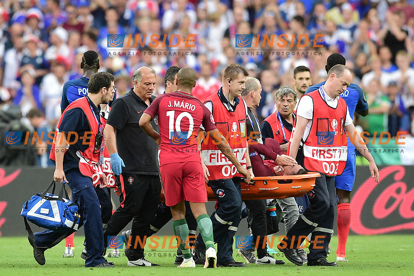 Infortunio Cristiano Ronaldo Portugal Injured <br /> Paris 10-07-2016 Stade Saint Denis Football Euro2016 Portugal - France / Portogallo - Francia Final - Finale <br /> Foto JB Autissier / Panoramic / Insidefoto