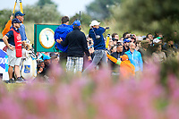 Jordan Spieth (USA) on the 16th during final round of The Open Championship 146th Royal Birkdale, Southport, England. 23/07/2017.<br /> Picture Fran Caffrey / Golffile.ie<br /> <br /> All photo usage must carry mandatory copyright credit (&copy; Golffile | Fran Caffrey)