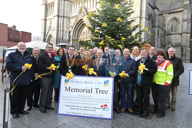 Launch of the Rotary Tree on West Street...(Photo credit should read Jenny Matthews www.newsfile.ie)....This Picture has been sent you under the conditions enclosed by:.Newsfile Ltd..The Studio,.Millmount Abbey,.Drogheda,.Co Meath..Ireland..Tel: +353(0)41-9871240.Fax: +353(0)41-9871260.GSM: +353(0)86-2500958.email: pictures@newsfile.ie.www.newsfile.ie.