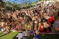 LAS VEGAS, NV - October 7:  Atmosphere pictured as DJ Pauly D performs at REHAB pool party at Hard Rock Hotel & Casino on October 7, 2012 in Las Vegas, Nevada. © Kabik/ Starlitepics