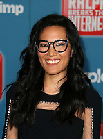 HOLLYWOOD, CA - NOVEMBER 5: Ali Wong, at Premiere Of Disney's &quot;Ralph Breaks The Internet&quot; at The El Capitan Theatre in Hollywood, California on November 5, 2018. <br /> CAP/MPI/FS<br /> &copy;FS/MPI/Capital Pictures