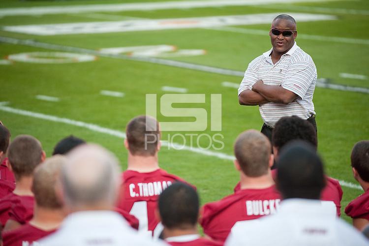 MIAMI GARDENS, FL--Stanford Cardinal Team Photo, Orange Bowl 2011, Sun Life Stadium in Miami Gardens, Florida.