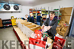 Junior Locke pictured at the Food Share Kerry, on Monday last, who are preparing Hampers for the Christmas period=