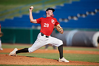 Trent Hodgdon (29) of Smiths Station High School in Smiths Station, AL during the Perfect Game National Showcase at Hoover Metropolitan Stadium on June 20, 2020 in Hoover, Alabama. (Mike Janes/Four Seam Images)