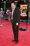 "Actor Steve Coogan arrives at the Los Angeles Premiere Of ""Tropic Thunder"" at the Mann's Village Theater on August 11, 2008 in Los Angeles, California."