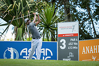 S Chikkarangappa (IND) during the 2nd round of the AfrAsia Bank Mauritius Open, Four Seasons Golf Club Mauritius at Anahita, Beau Champ, Mauritius. 30/11/2018<br /> Picture: Golffile | Mark Sampson<br /> <br /> <br /> All photo usage must carry mandatory copyright credit (&copy; Golffile | Mark Sampson)