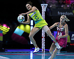 29/10/17 Fast5 2017<br /> Fast 5 Netball World Series<br /> Hisense Arena Melbourne<br /> Australia v South Africa <br /> <br /> Ashleigh Brazill<br /> <br /> <br /> <br /> <br /> Photo: Grant Treeby
