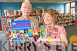 Primary school children are encouraged to start reading  early with a number of iniatitives to promote reading at Kerry Library branches..L-R Seamus Dowling and Noirín O'Keeffe of Kerry Library.