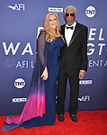 Morgan Freeman, Lori McCreary 099 attends the American Film Institute's 47th Life Achievement Award Gala Tribute To Denzel Washington at Dolby Theatre on June 6, 2019 in Hollywood, California