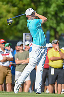 Matt Fitzpatrick (ENG) watches his tee shot on 12 during 1st round of the 100th PGA Championship at Bellerive Country Cllub, St. Louis, Missouri. 8/9/2018.<br /> Picture: Golffile | Ken Murray<br /> <br /> All photo usage must carry mandatory copyright credit (© Golffile | Ken Murray)