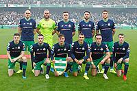 3rd November 2019; Aviva Stadium, Dublin, Leinster, Ireland; FAI Cup Final Football, Dundalk Football Club versus Shamrock Rovers; Shamrock Rovers team pictured before kick off