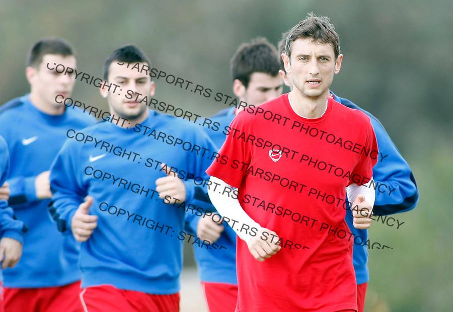 Fudbal,.Pripreme FK Crvena Zvezda, Cyprus.Ivan Gvozdenovic.Agia Napa, 01.11.2009.foto: Srdjan Stevanovic/Starsportphoto.com ©