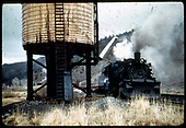 D&amp;RGW #483 K-36 by water tank.<br /> D&amp;RGW ?