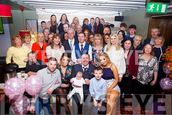 Enjoying the christening of Amelia Rochford from Gallowsfields in Gallys Restruarant on Saturday evening last. L-r, Lisa Coffey (Godmother), Bernard Daly (Godfather), Louise Coffey.
