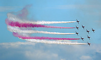 2016 07 02 Red Arrows in Swansea Bay, Wales, UK