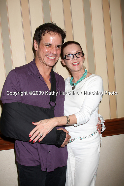 Christian LeBlanc & Judith Chapman  at The Young & the Restless Fan Club Dinner  at the Sheraton Universal Hotel in  Los Angeles, CA on August 28, 2009.©2009 Kathy Hutchins / Hutchins Photo.
