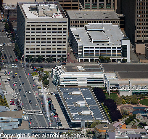 aerial photograph 201 Third Street SOMA San Francisco, California