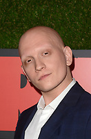 """LOS ANGELES - FEB 21:  Anthony Carrigan at the """"Barry"""" HBO Premiere Screening at the NeueHouse Hollywood on February 21, 2018 in Los Angeles, CA"""