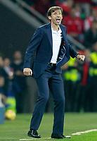 Athletic de Bilbao's coach Jose Angel Kuko Ziganda during La Liga match. October 28,2017. (ALTERPHOTOS/Acero) /NortePhoto.com